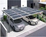 太陽光発電|カーポート設置用|イメージ写真|高知|太陽光|オール電化|有限会社 サンクオリティ