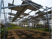 太陽光発電-農地用|農業用架台イメージ画像2|高知|太陽光|オール電化|有限会社 サンクオリティ
