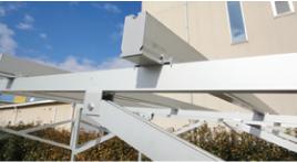 太陽光発電-農地用|アルミ架台イメージ写真|太陽光|オール電化|有限会社 サンクオリティ