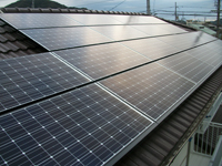太陽光発電|太陽光発電設置事例-住宅用|写真6|高知|太陽光|オール電化|有限会社 サンクオリティ