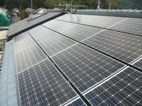 太陽光発電|太陽光発電設置事例-住宅用|写真7|高知|太陽光|オール電化|有限会社 サンクオリティ